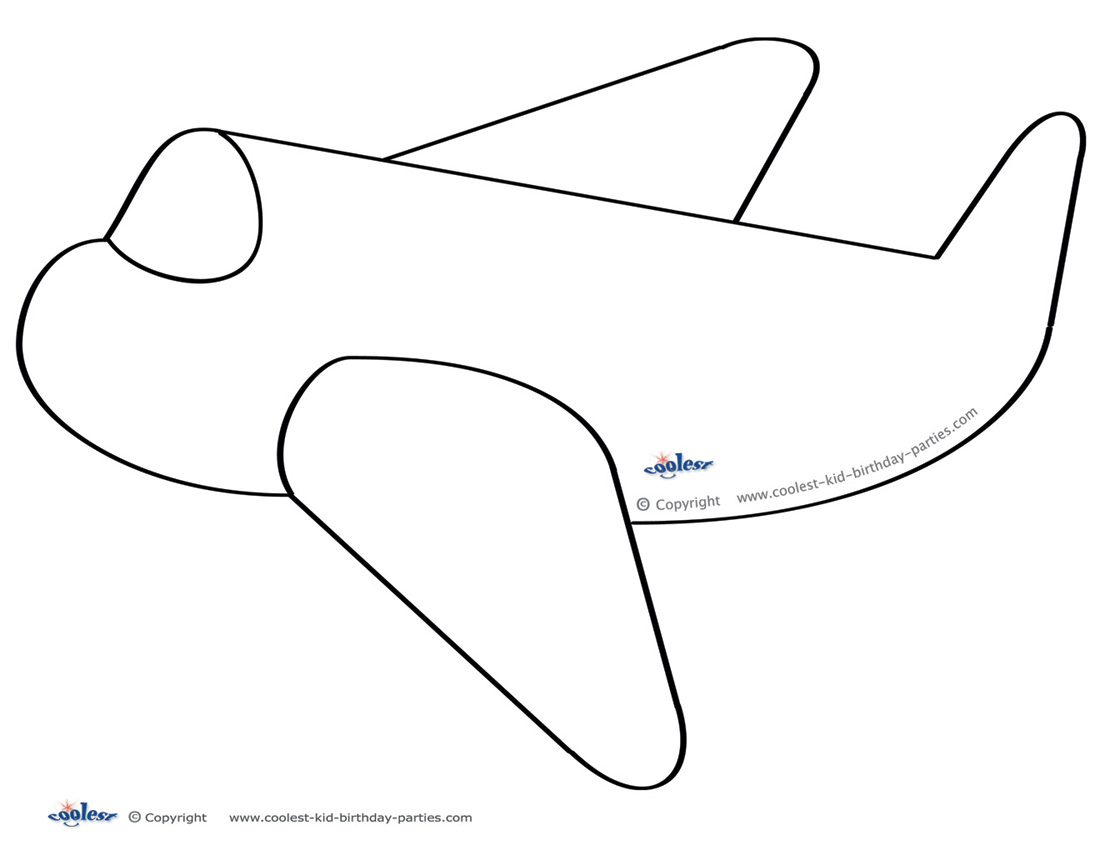 Airplane cut out template choice image templates design ideas large printable airplane decoration download printable pronofoot35fo choice image pronofoot35fo Images