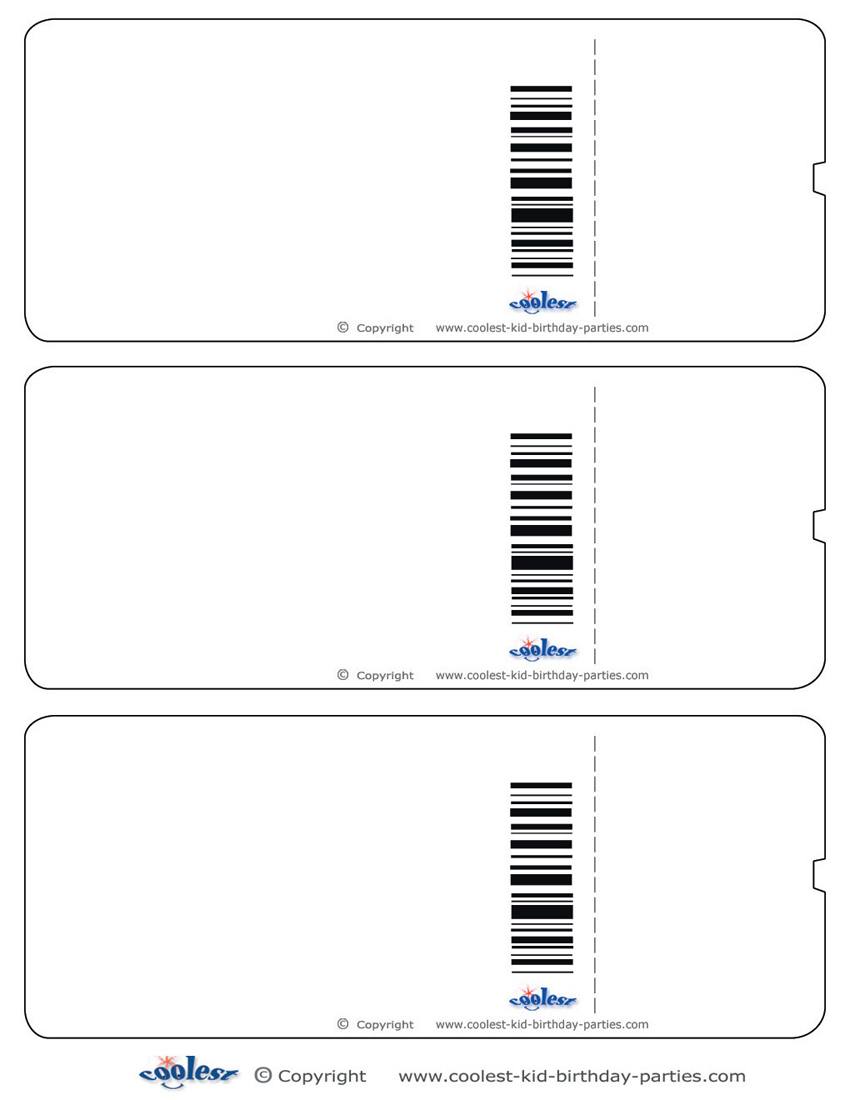 photo relating to Free Printable Boarding Pass Template known as Blank Printable Aircraft Boarding P Invites