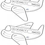 Printable Airplane Shaped Invitations