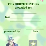 Printable Army Certificate 2