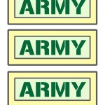 Printable Army Signs