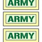 Printable Army Signs