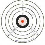 Large Printable Army Target 1