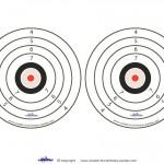 Medium Printable Army Targets 1