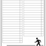 Blank Printable Around Town Scavenger Hunt List