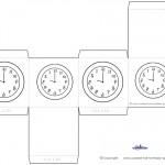 Printable Backwards Clock Favorbox