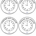 Printable Backwards Clock Thank You Cards