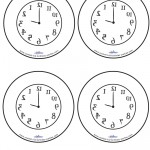 Blank Printable Backwards Clock Thank You Cards