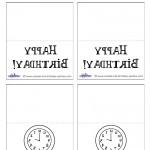 Printable Backwards Placecards