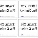 Printable Backwards Thank You Cards