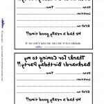 Printable Backwards 2 Invitation