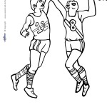 Printable Basketball Coloring Page 3