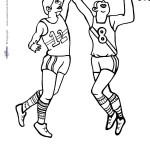 Printable Basketball Coloring Page 3