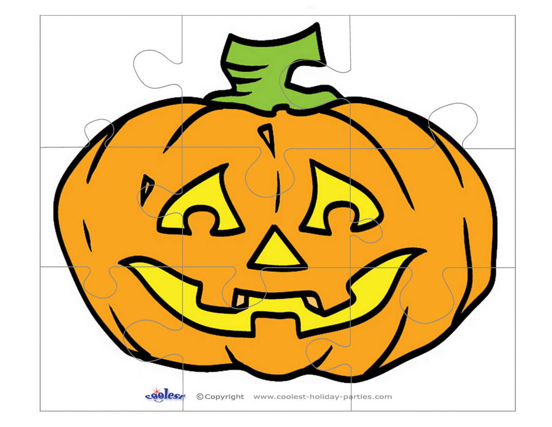 Puzzle Pumpkin Carving - Pumpkin Carving Ideas