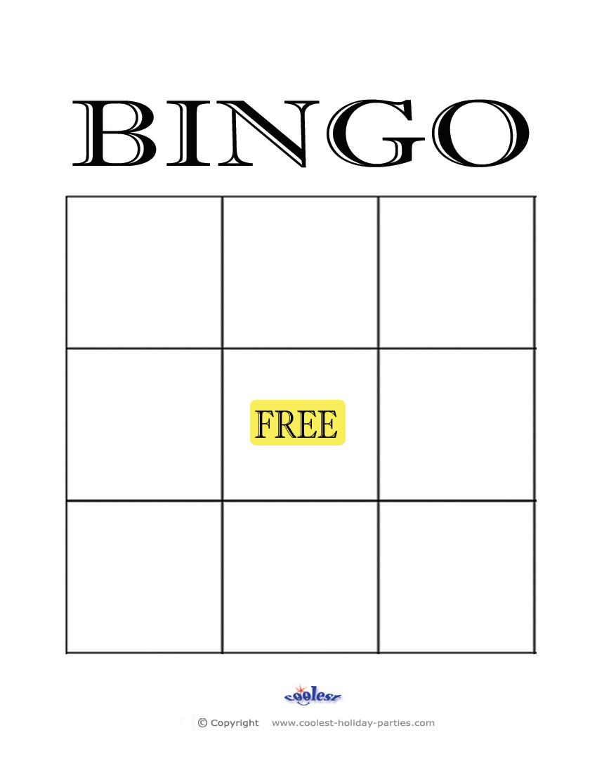 Blank bingo template word maxwellsz