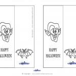 Printable Dracula Bookmark