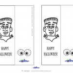 Printable Frankenstein Bookmark
