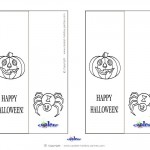 Printable Pumpkin 1 Bookmark