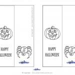 Printable Pumpkin 1 Bookmark