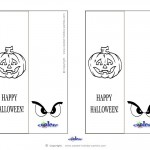 Printable Pumpkin 2 Bookmark