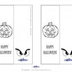 Printable Pumpkin 2 Bookmark