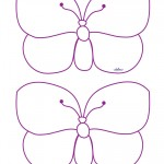 Medium Printable Butterfly 1 Decorations