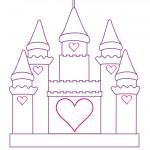 Printable Castle Decoration