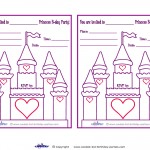 Printable Castle Invitations