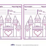 Printable Castle Invitations