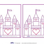 Blank Printable Castle Invitations