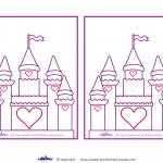 Blank Printable Castle Invitations