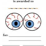 Printable Eyes 3 Certificate