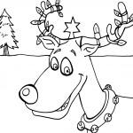 Printable Christmas Coloring Page 4