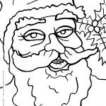 Printable Christmas Coloring Page 9