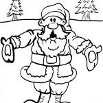 Printable Christmas Coloring Page 11