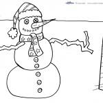 Printable Christmas Coloring Page 15