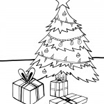 Printable Christmas Coloring Page 17