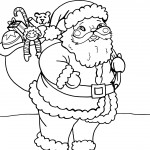 Printable Christmas Coloring Page 18