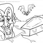 Printable Halloween Coloring Page 4