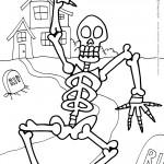 Printable Halloween Coloring Page 9