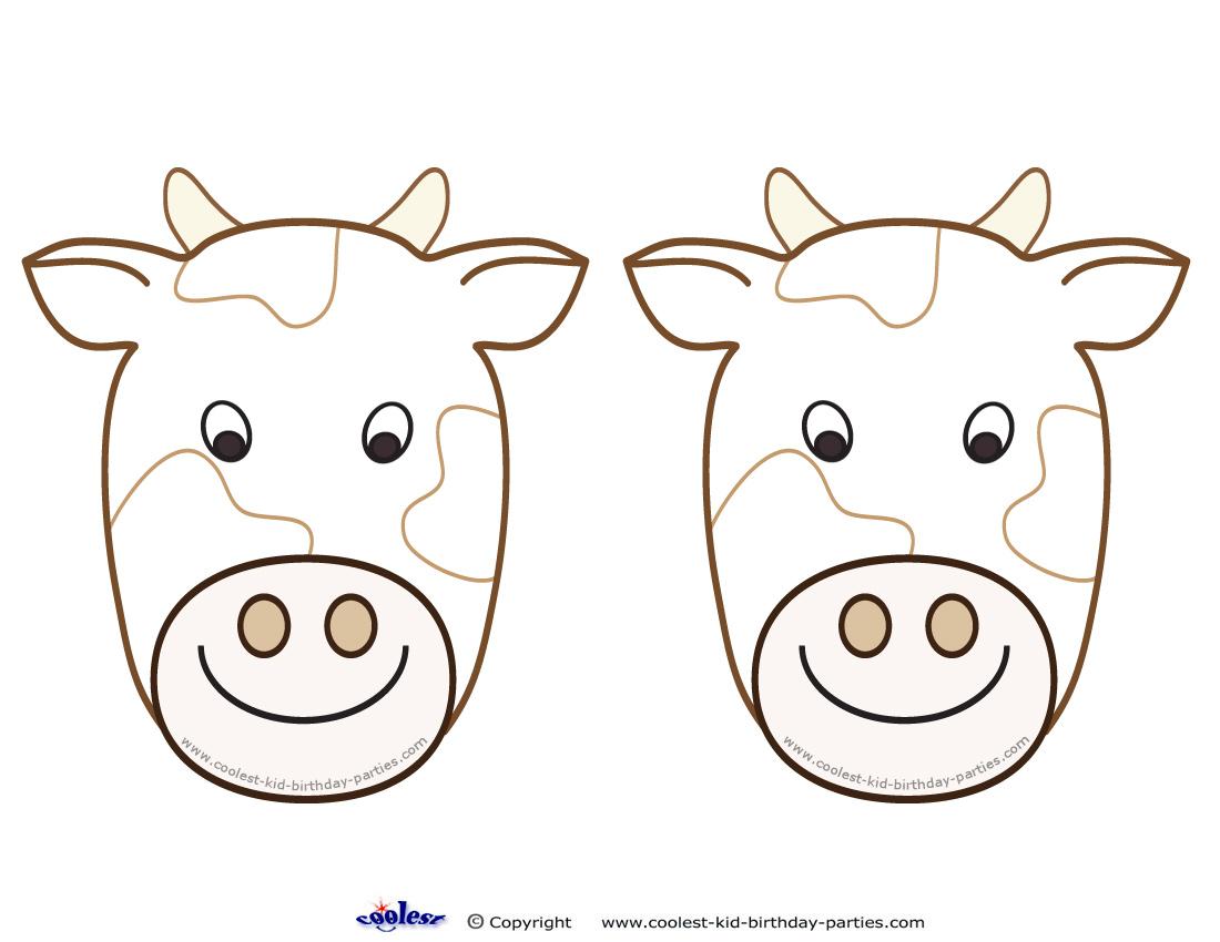 picture regarding Cow Ears Printable named Printable Cow Ears -