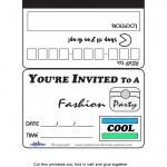 Printable Cool Credit Card Invitations