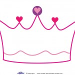 Printable Crown Decoration