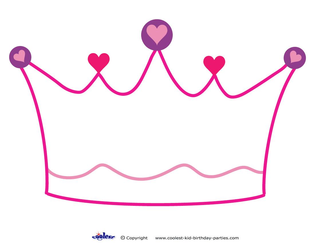 Printable Crown Decoration