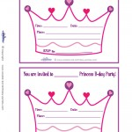 Printable Crown Invitations