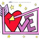 Printable Love Decoration