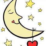 Printable Moon Decoration