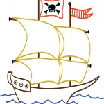 Printable Ship Decoration