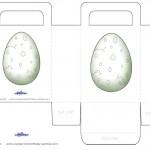 Printable Dinosaur Egg Favorbag