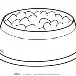 Printable Dog Bowl Decoration